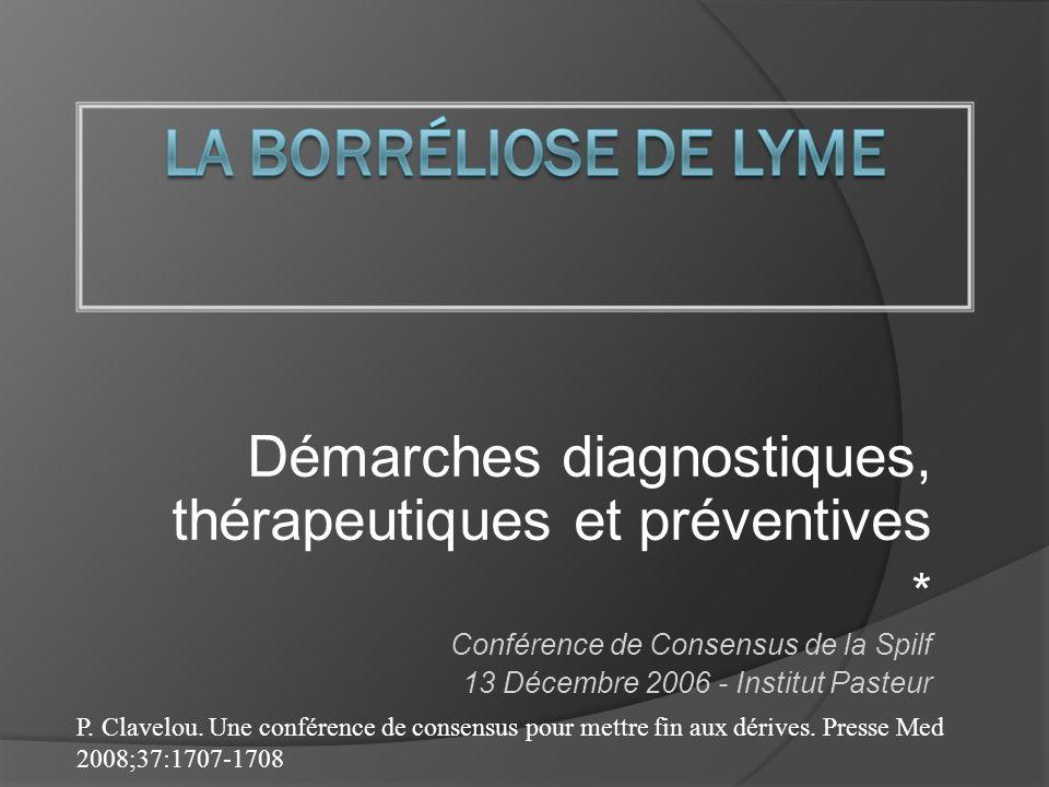 Démarches diagnostiques, thérapeutiques et préventives