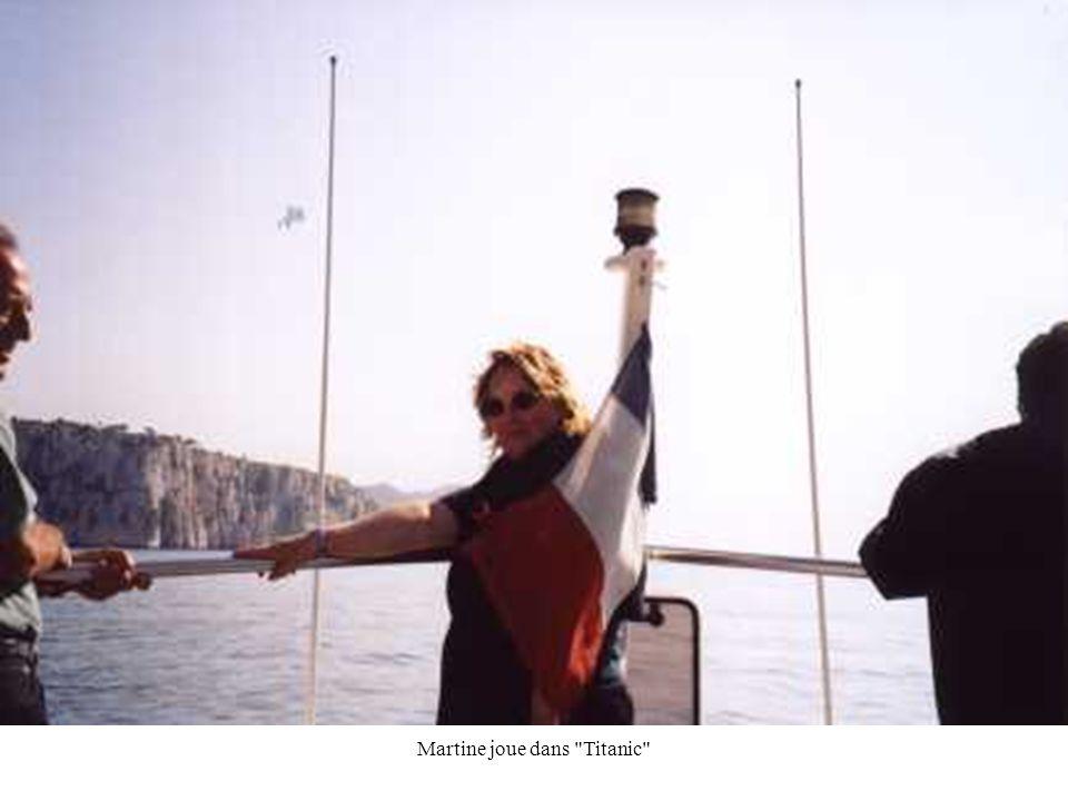 Martine joue dans Titanic