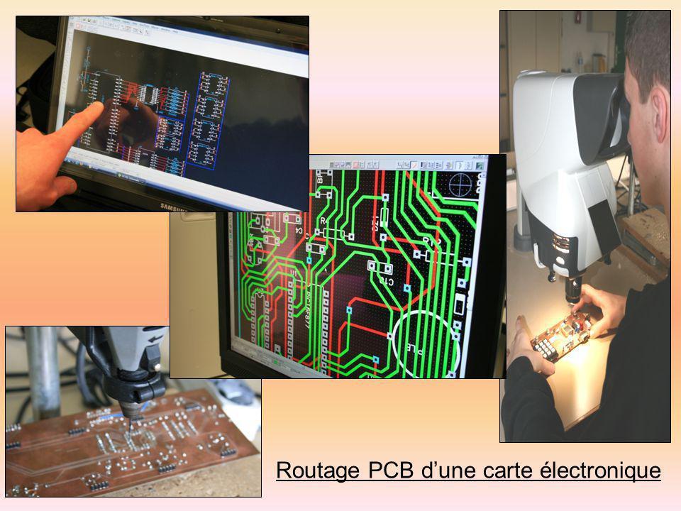 Routage PCB d'une carte électronique