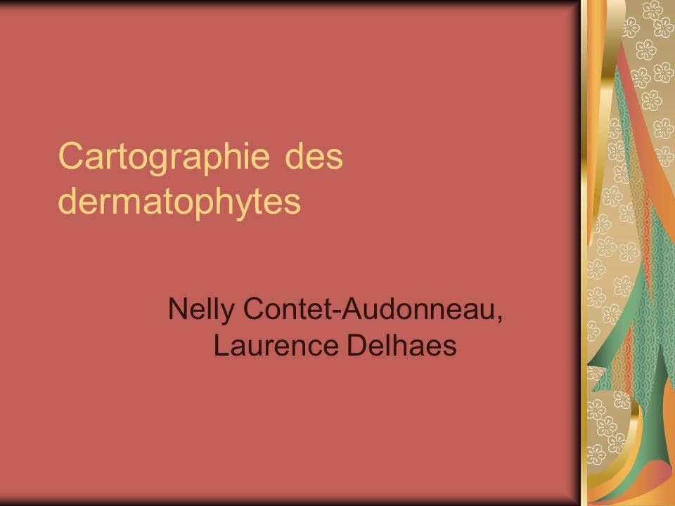 Cartographie des dermatophytes