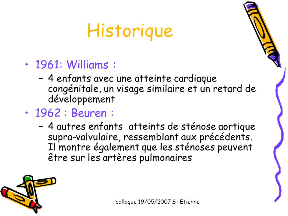 Historique 1961: Williams : 1962 : Beuren :