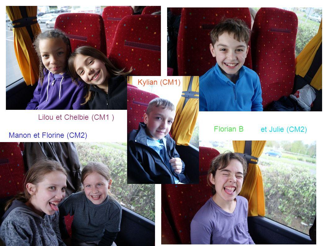 Kylian (CM1) Lilou et Chelbie (CM1 ) Florian B et Julie (CM2) Manon et Florine (CM2)
