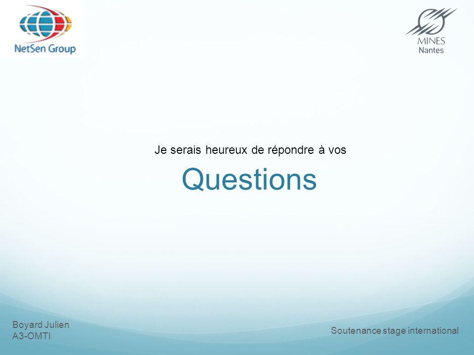 Questions Je serais heureux de répondre à vos Boyard Julien A3-OMTI