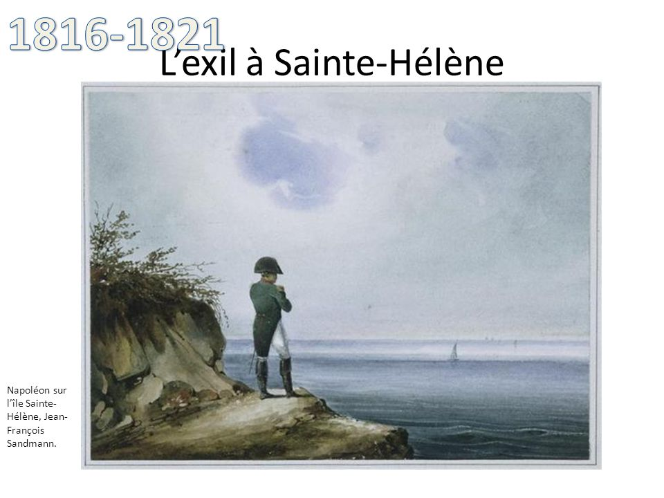 L'exil à Sainte-Hélène
