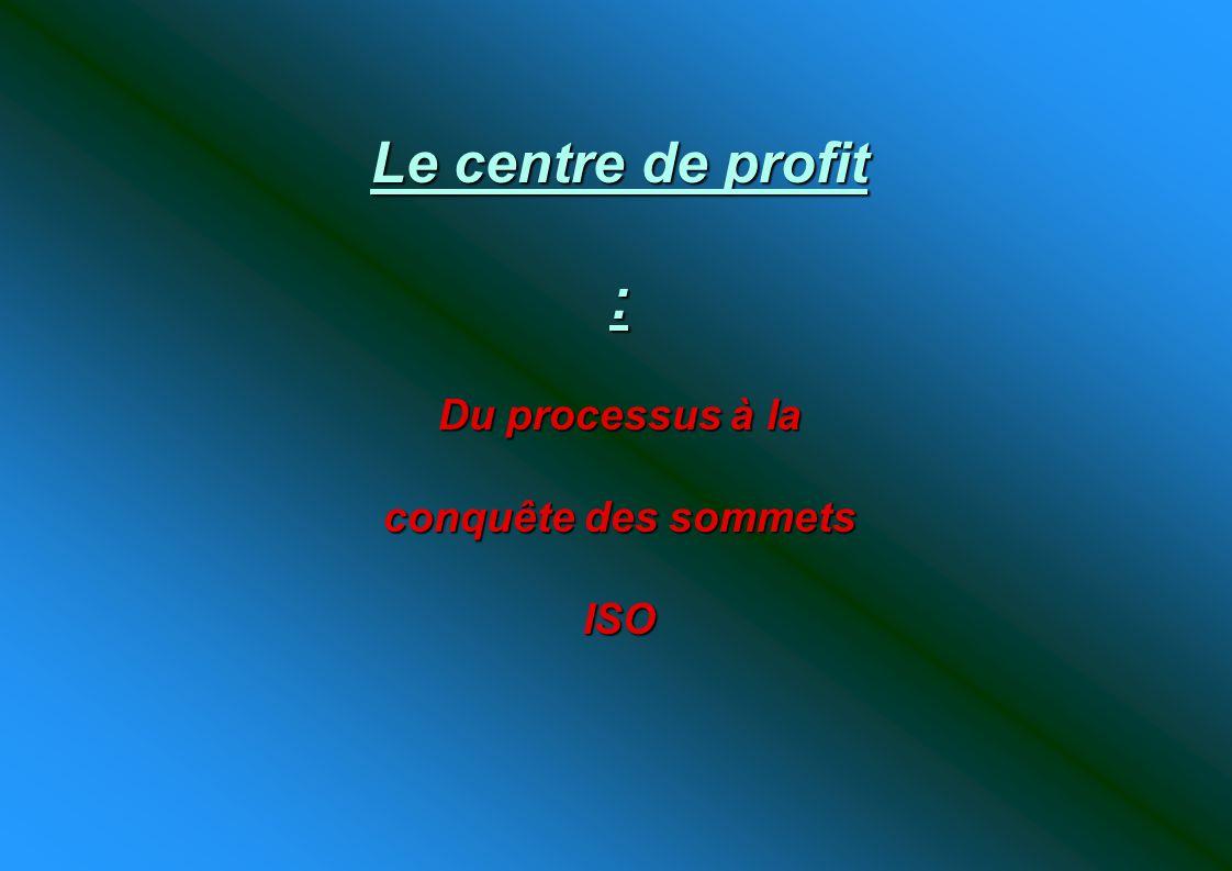 Du processus à la conquête des sommets ISO