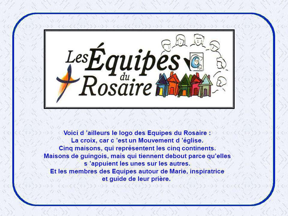 Voici d 'ailleurs le logo des Equipes du Rosaire :