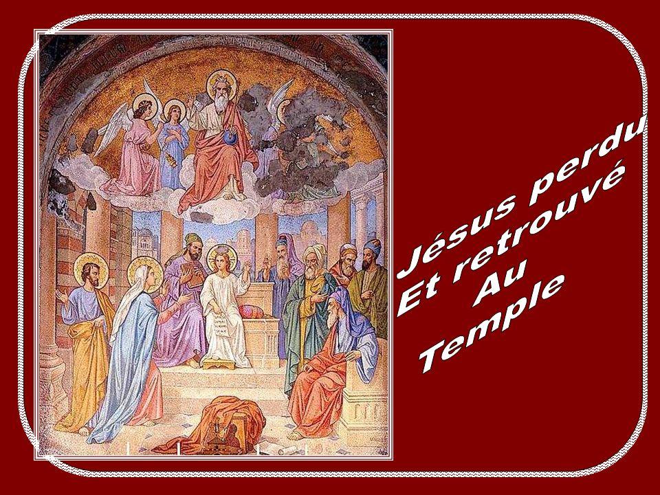 Jésus perdu Et retrouvé Au Temple