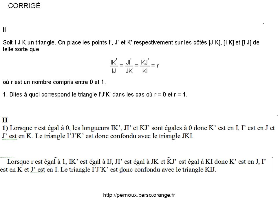 CORRIGÉ http://pernoux.perso.orange.fr