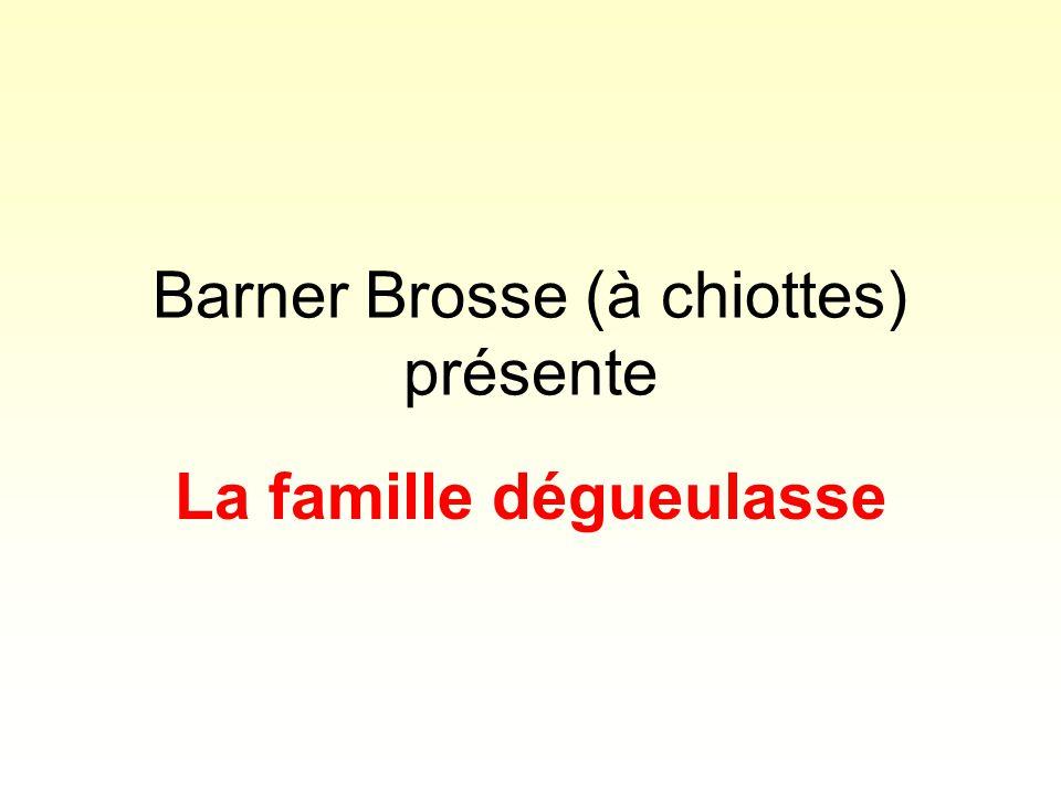 Barner Brosse (à chiottes) présente