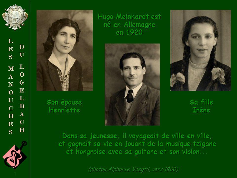 Hugo Meinhardt est né en Allemagne en 1920