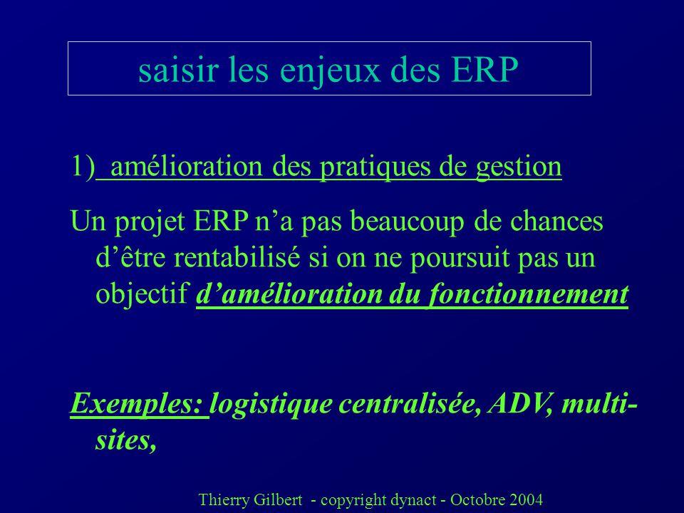 saisir les enjeux des ERP