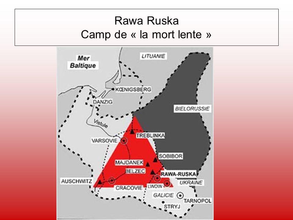 Rawa Ruska Camp de « la mort lente »
