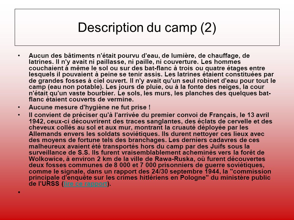 Description du camp (2)