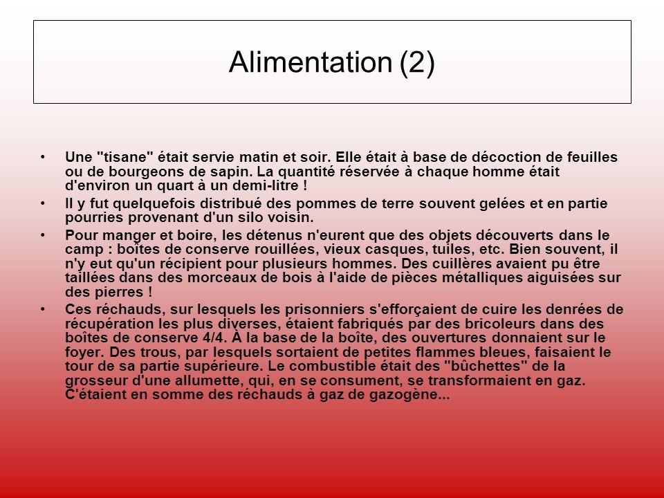 Alimentation (2)