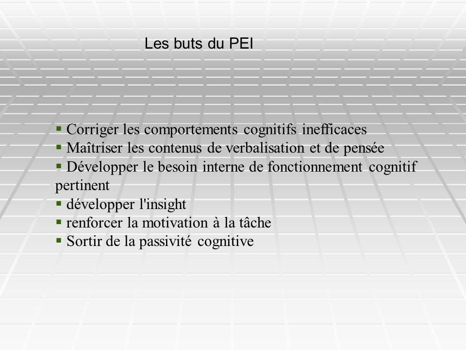 Corriger les comportements cognitifs inefficaces