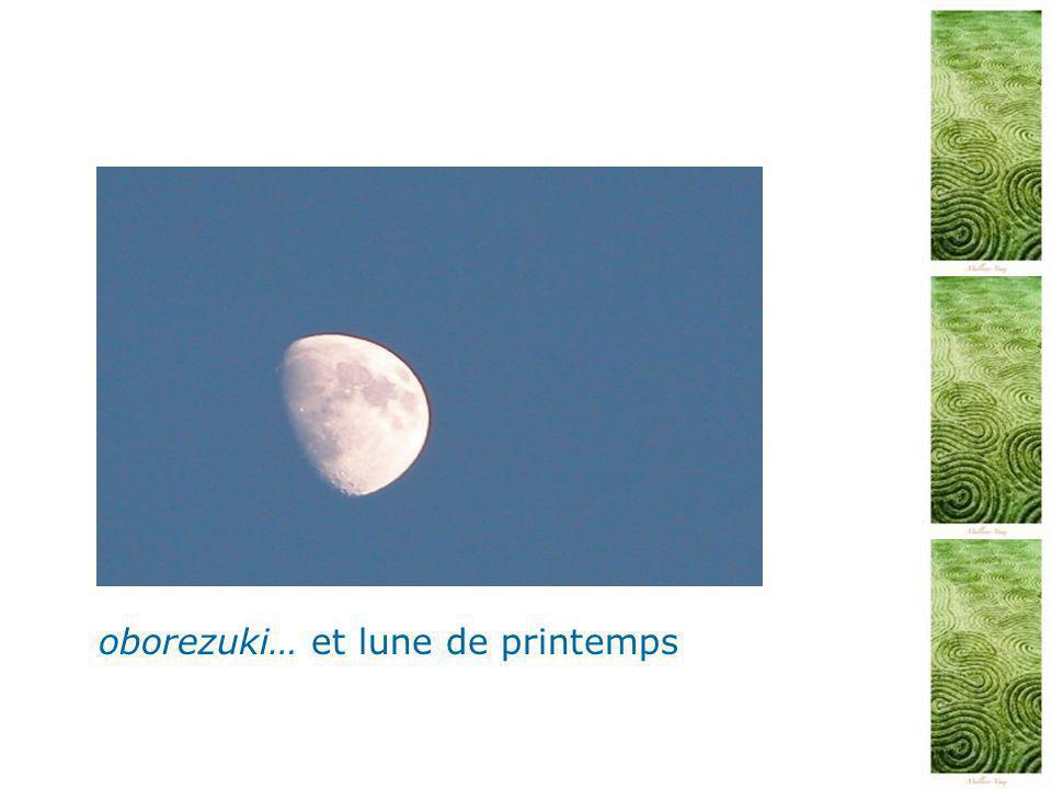 oborezuki… et lune de printemps