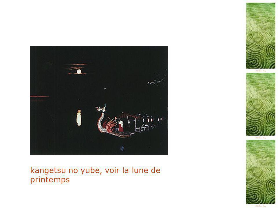 kangetsu no yube, voir la lune de printemps