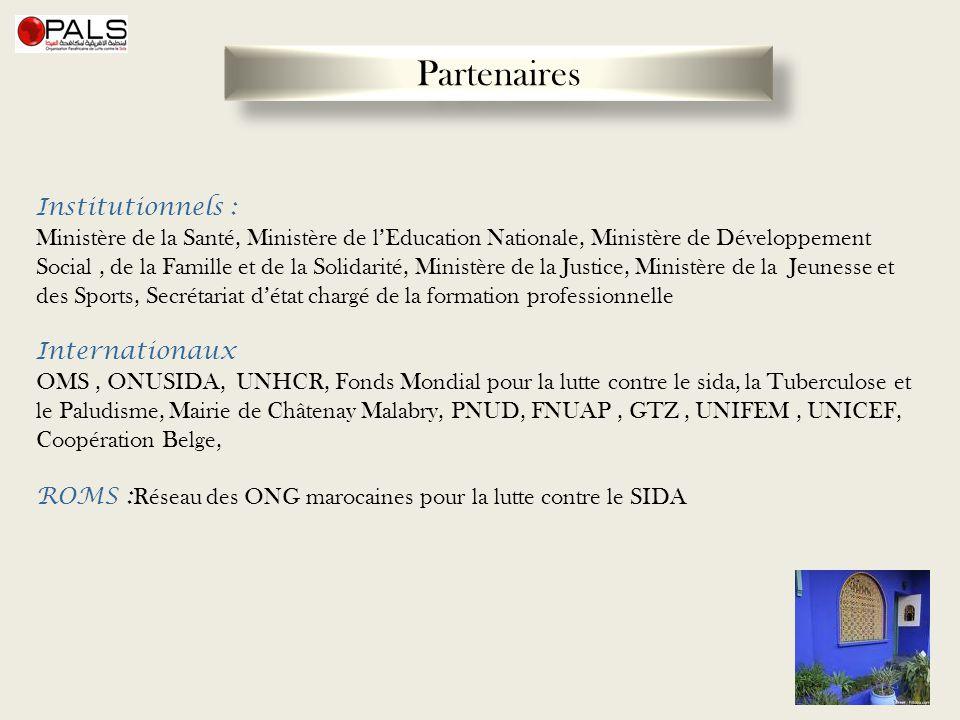 Partenaires Institutionnels :