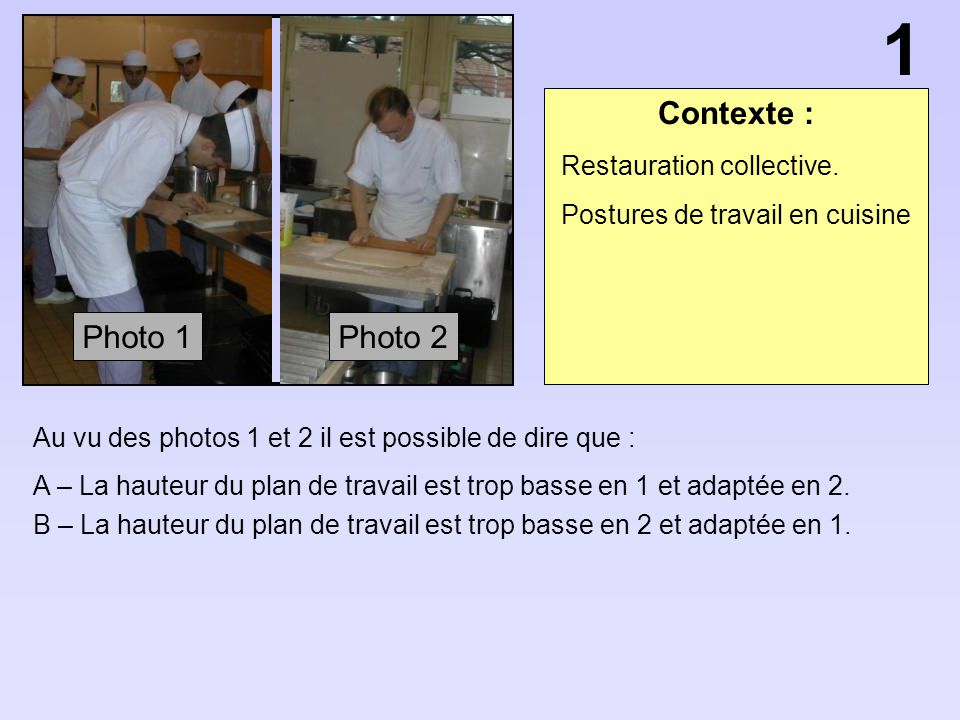 Olympiades sant s curit ppt video online t l charger for Travailler en cuisine collective