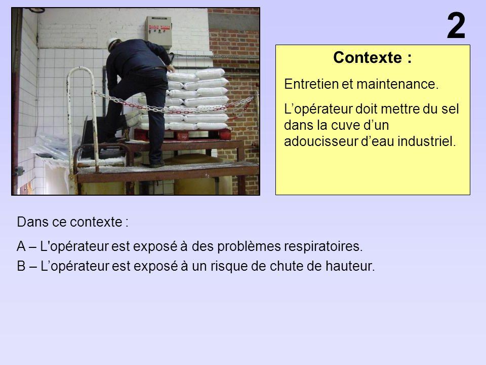 2 Contexte : Entretien et maintenance.