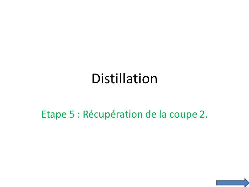Etape 5 : Récupération de la coupe 2.