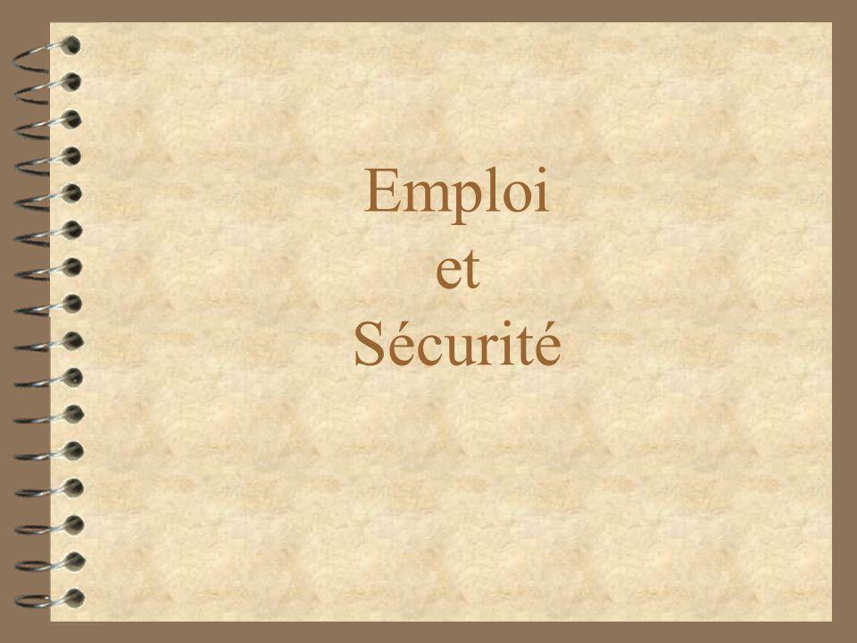 Emploi et Sécurité