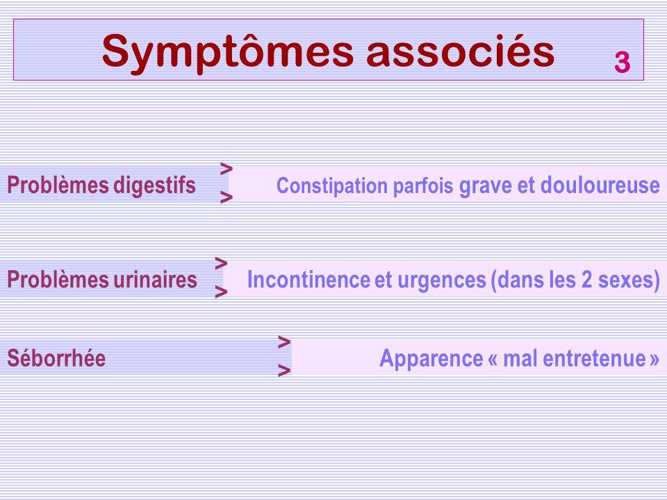 Symptômes associés 3 >> Problèmes digestifs >>