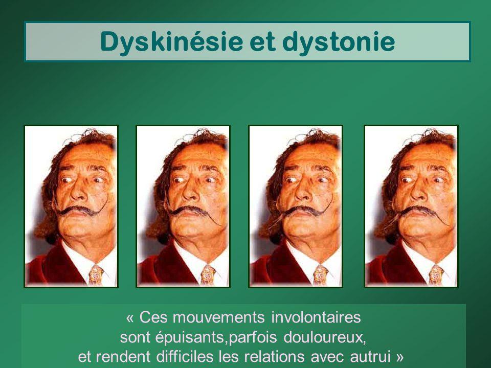 Dyskinésie et dystonie