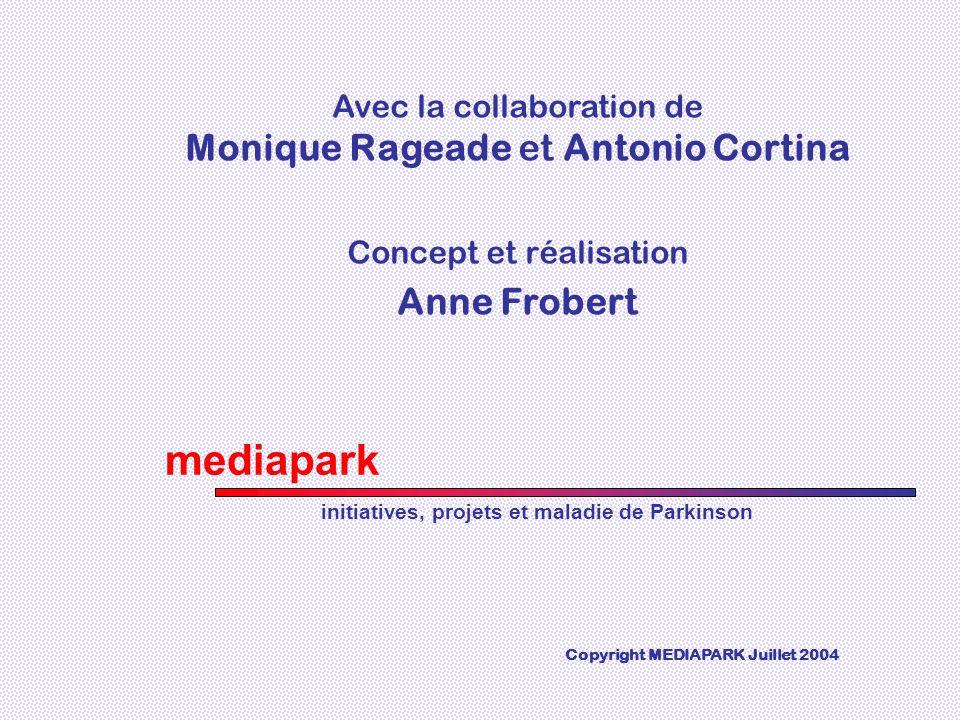mediapark Monique Rageade et Antonio Cortina Anne Frobert