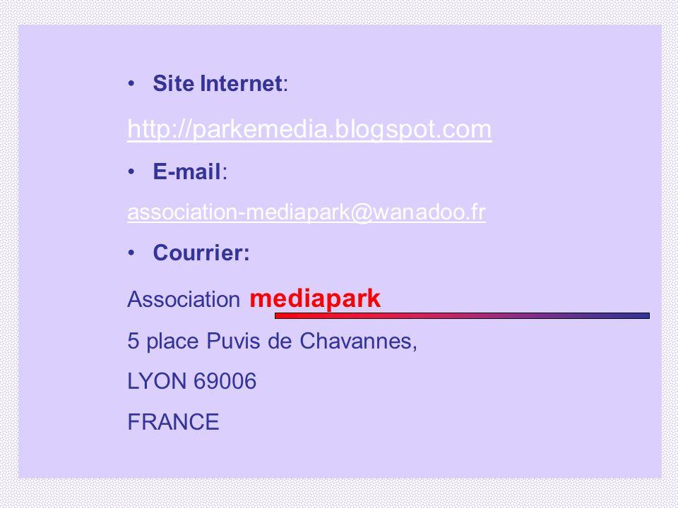 http://parkemedia.blogspot.com Site Internet: E-mail: