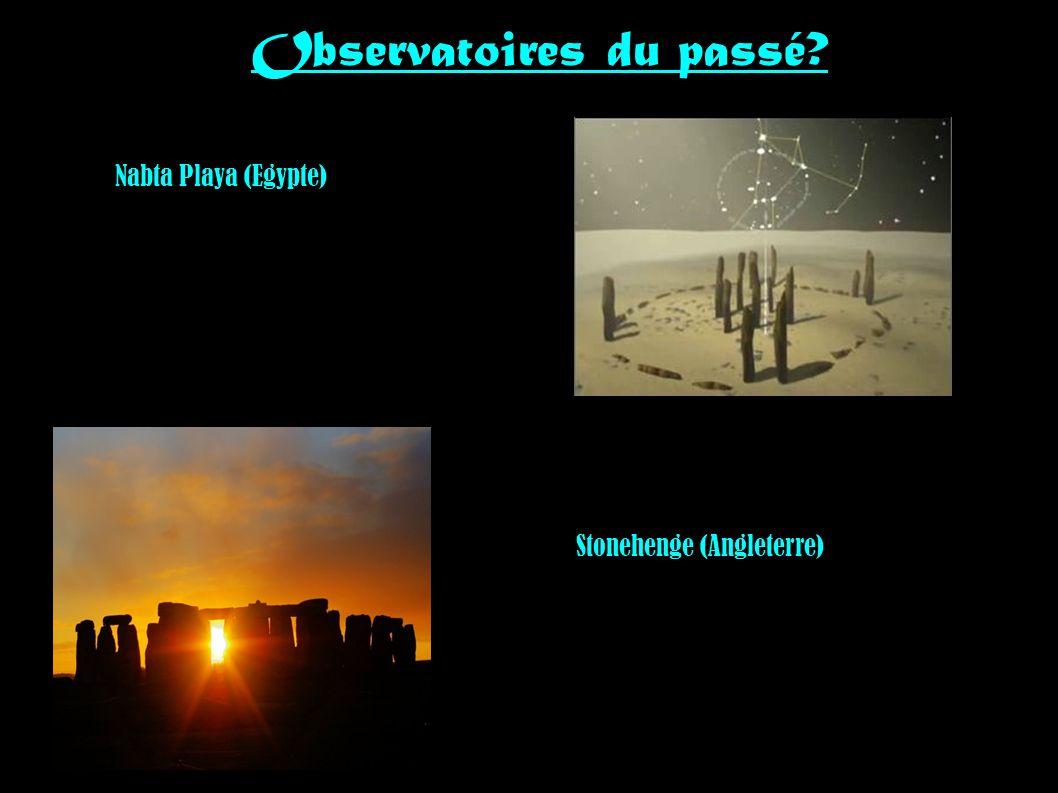 Observatoires du passé