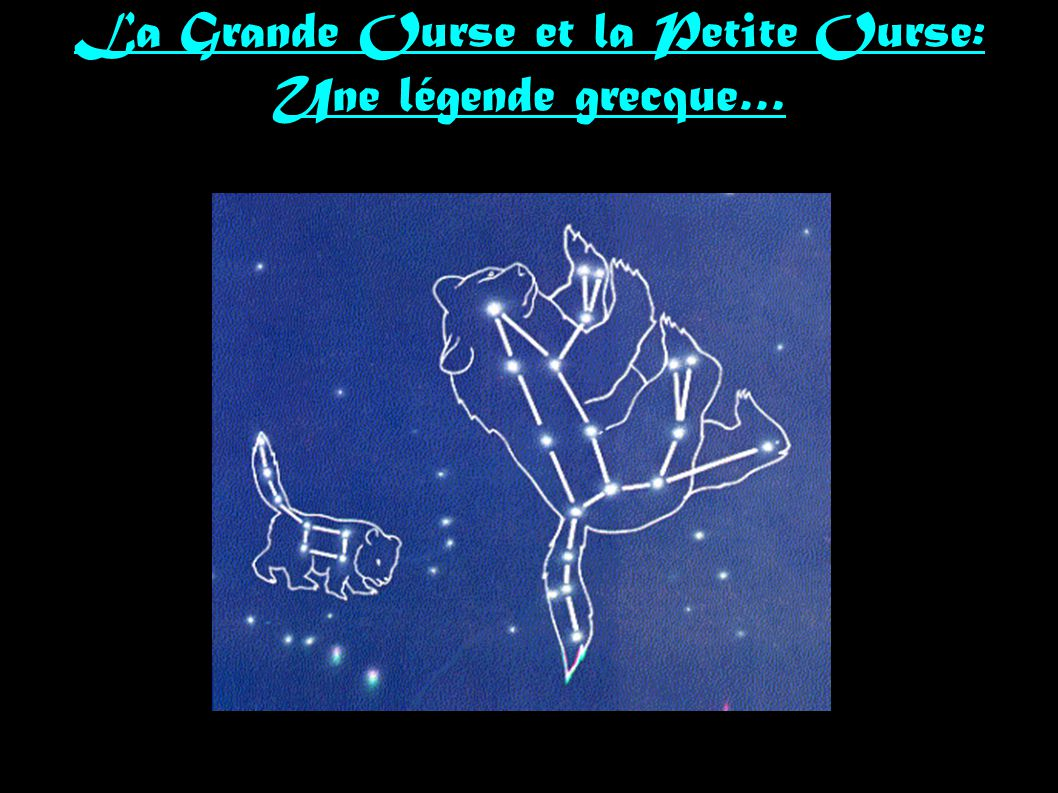 La Grande Ourse et la Petite Ourse: