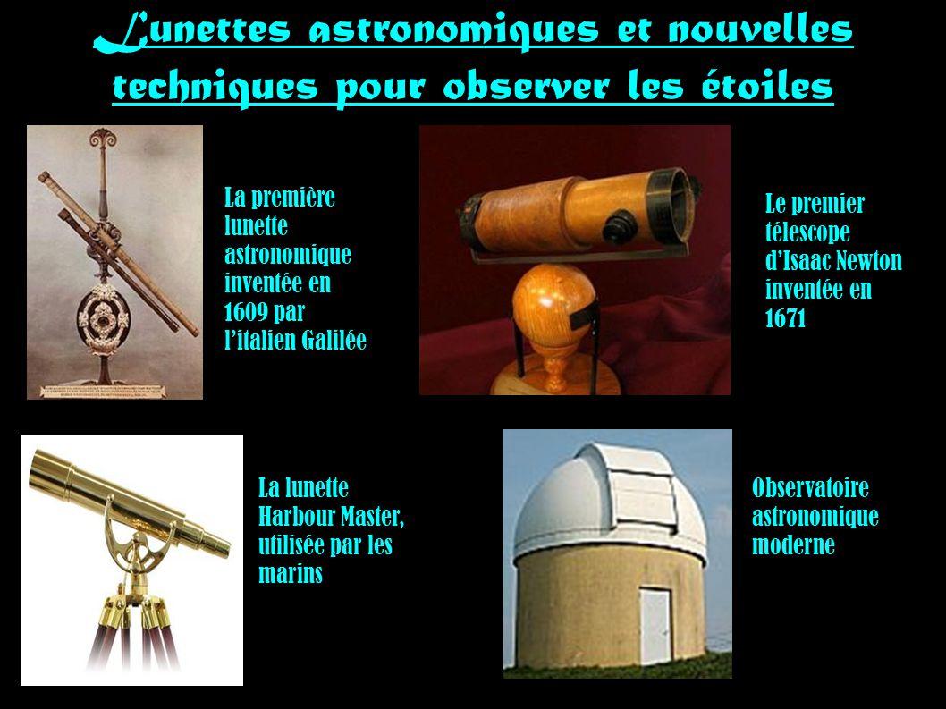 Lunettes astronomiques et nouvelles techniques pour observer les étoiles