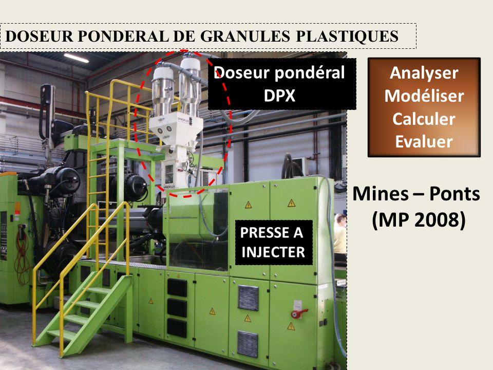 Mines – Ponts (MP 2008) Doseur pondéral Analyser DPX Modéliser