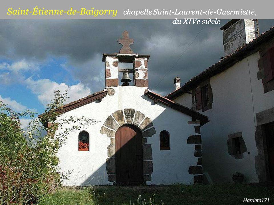 Saint-Étienne-de-Baïgorry chapelle Saint-Laurent-de-Guermiette,