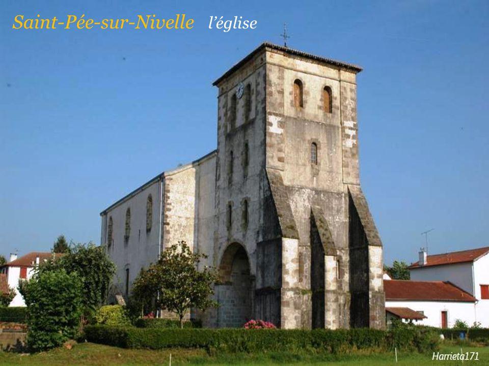 Saint-Pée-sur-Nivelle l'église