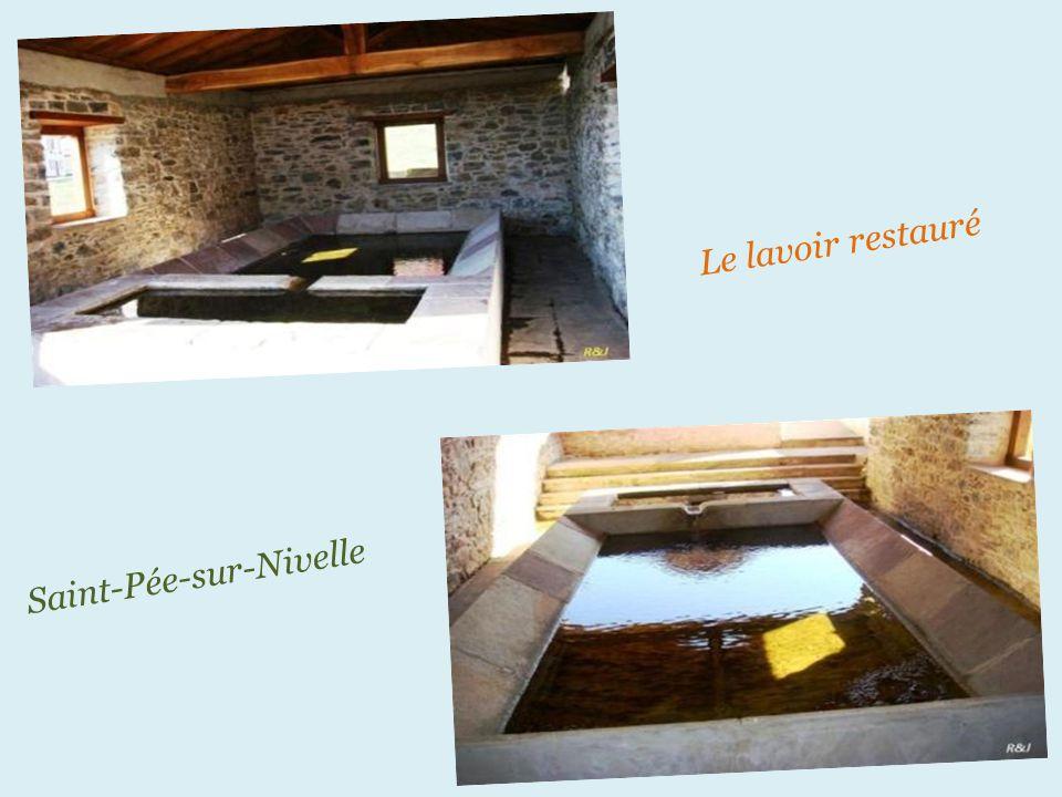Le lavoir restauré Saint-Pée-sur-Nivelle