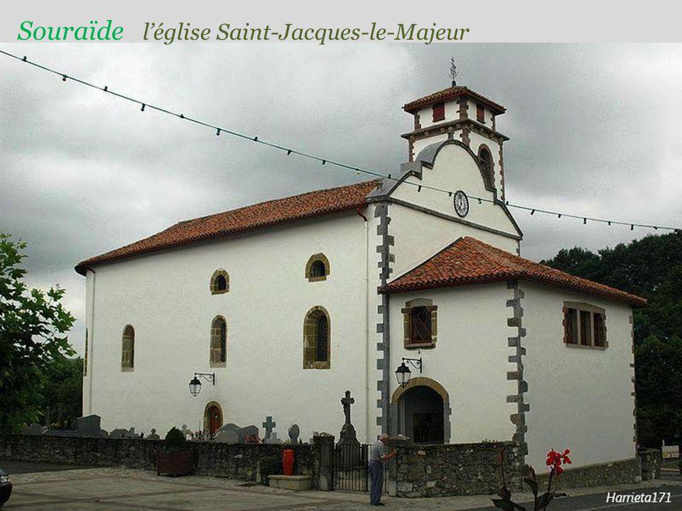 Souraïde l'église Saint-Jacques-le-Majeur