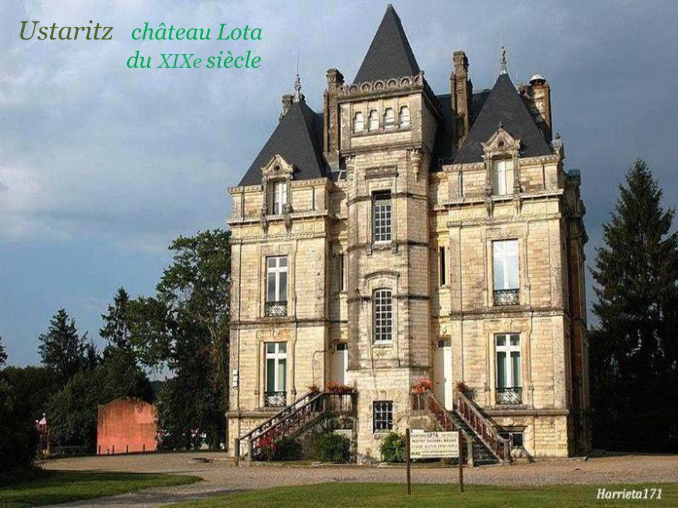 Ustaritz château Lota . du XIXe siècle