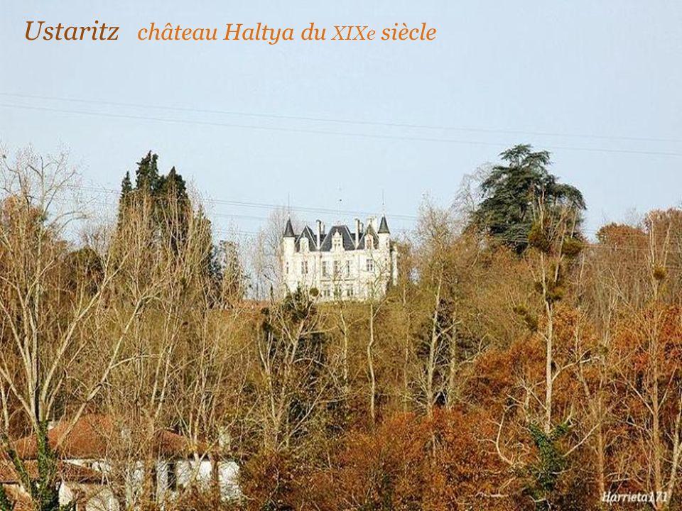 Ustaritz château Haltya du XIXe siècle