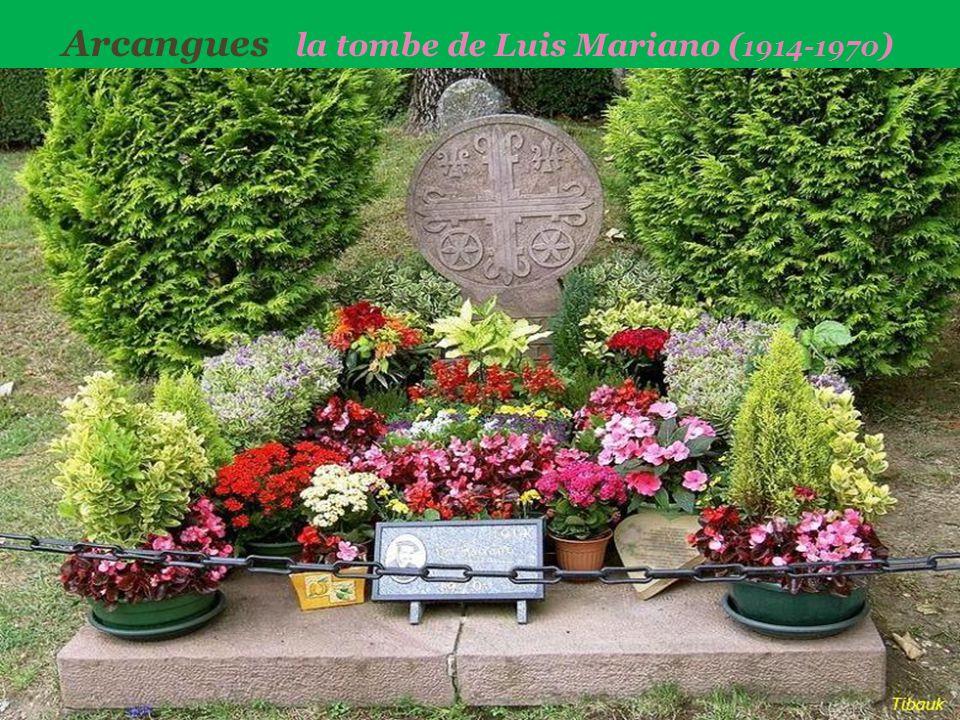 Arcangues la tombe de Luis Mariano (1914-1970)