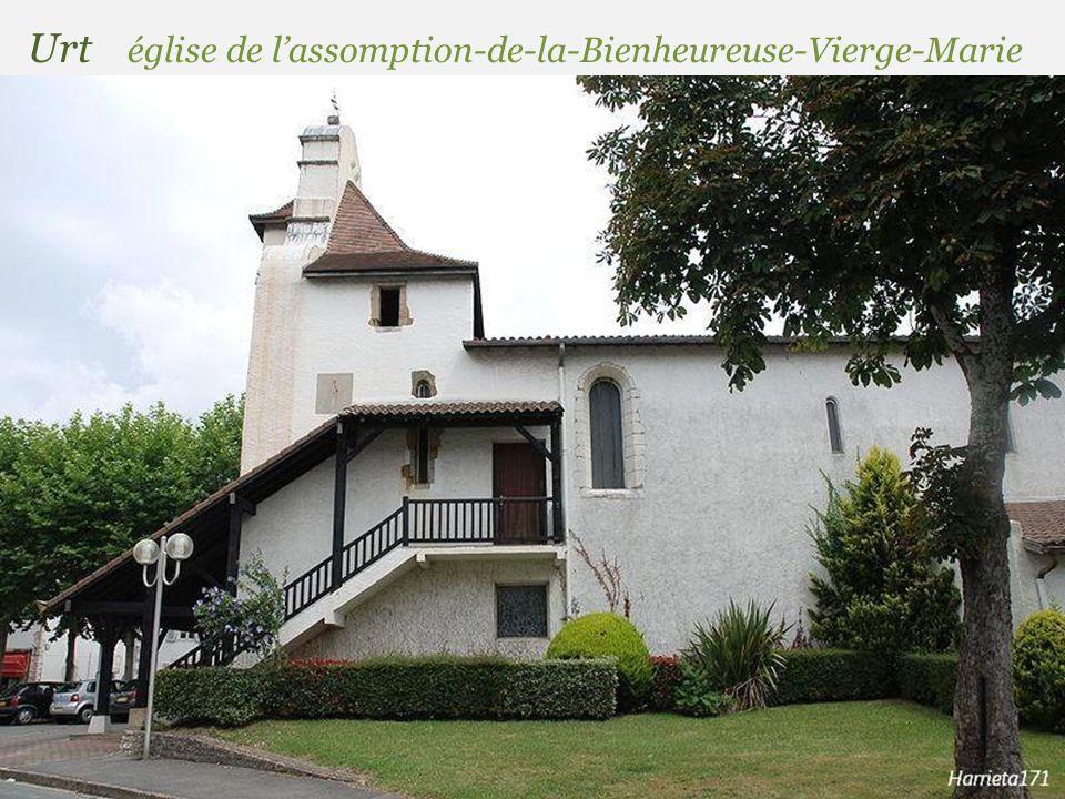 Urt église de l'assomption-de-la-Bienheureuse-Vierge-Marie