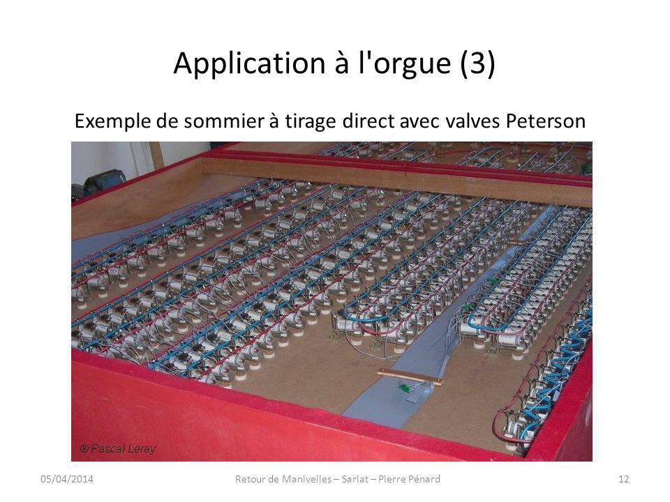 Application à l orgue (3)