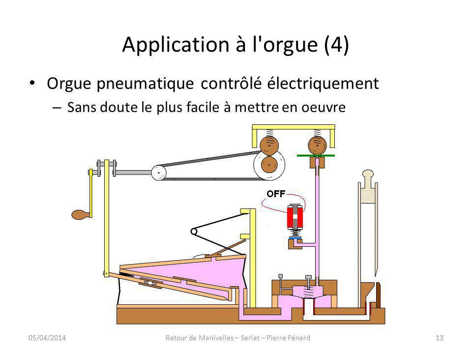 Application à l orgue (4)