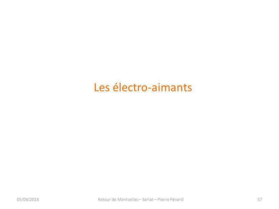 Retour de Manivelles – Sarlat – Pierre Pénard
