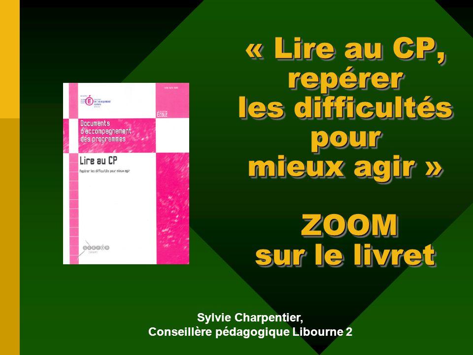 Sylvie Charpentier, Conseillère pédagogique Libourne 2