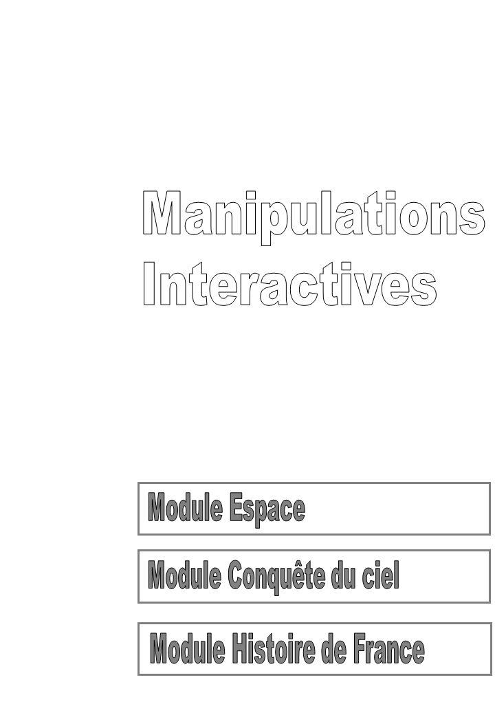 Module Conquête du ciel Module Histoire de France