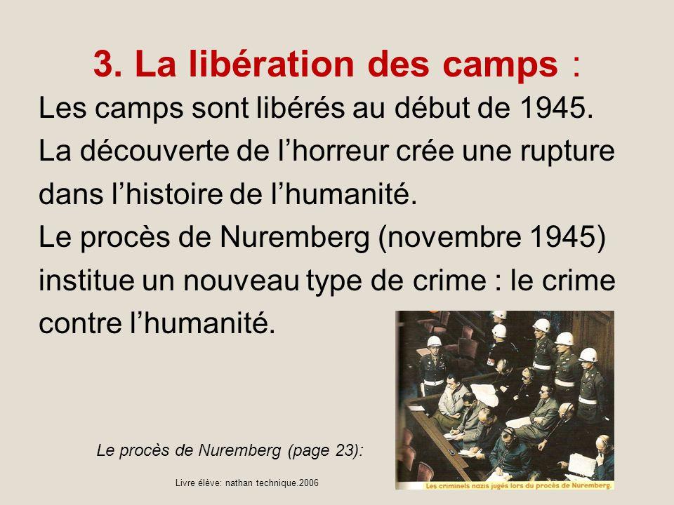 3. La libération des camps :