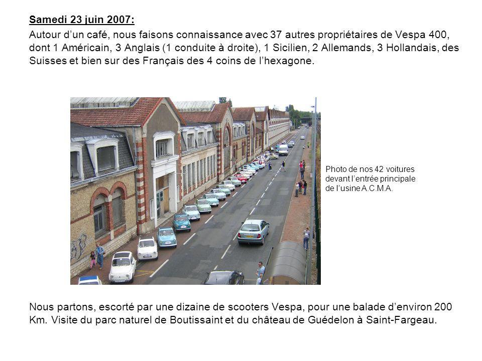 Samedi 23 juin 2007: