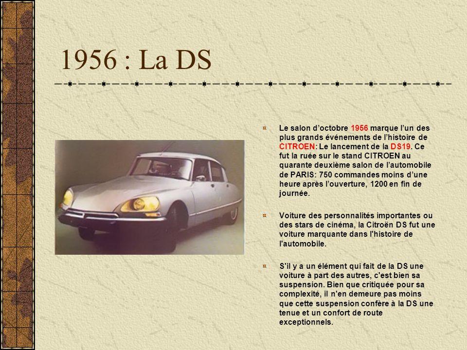 1956 : La DS